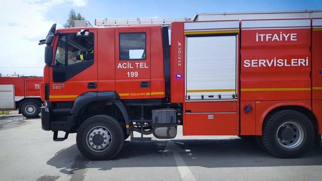 north cyprus fire service