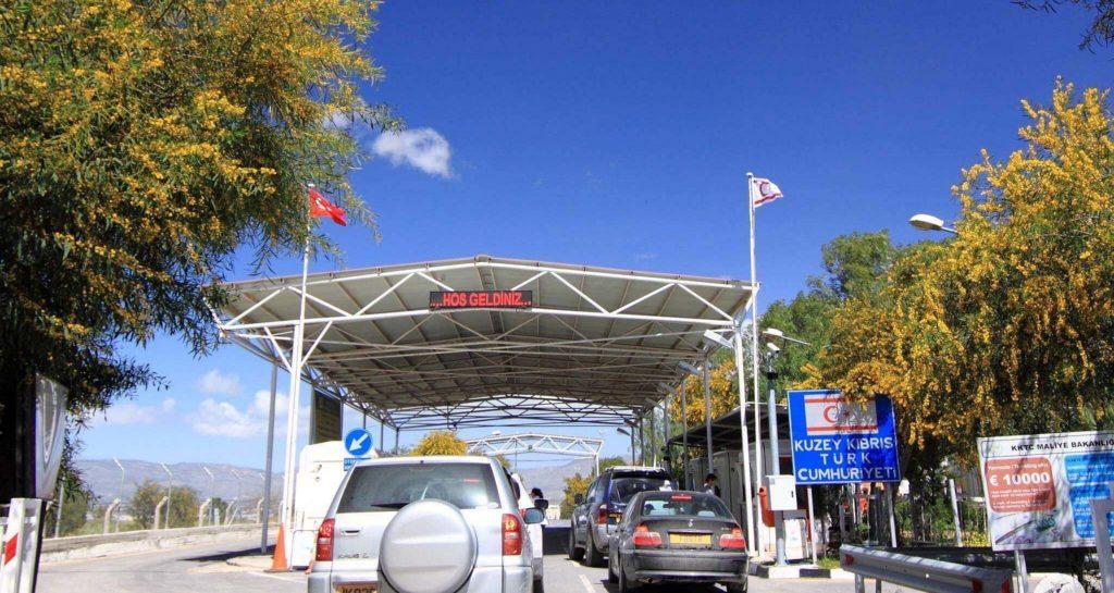 border crossings north cyprus
