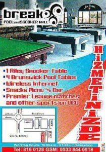 Pool & Snooker, North Cyprus