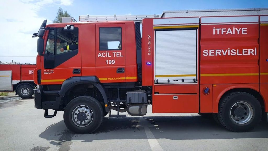 north cyprus fire service