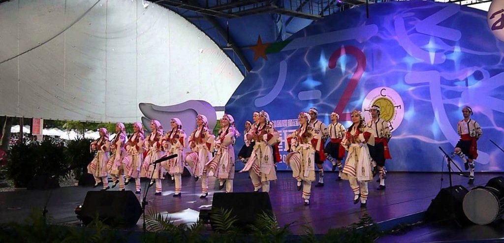 folk dancing north cyprus