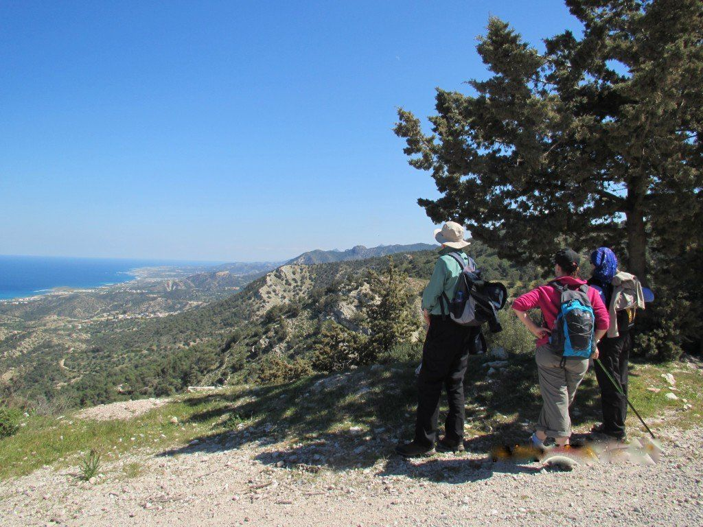 walking holiday north cyprus