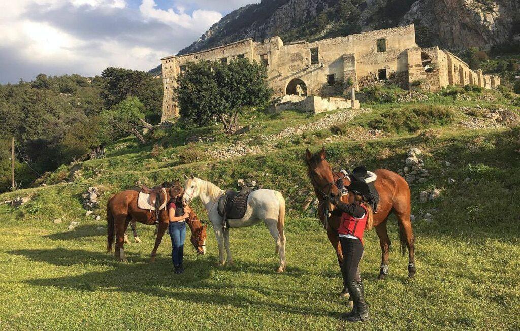 horse riding north cyprus